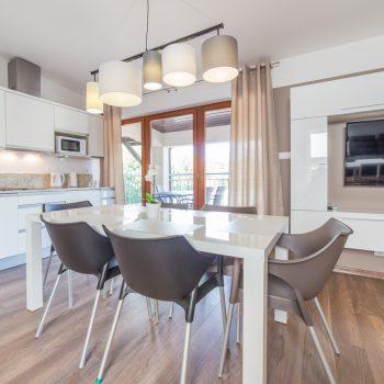 Apartament AP-02 - Salon z aneksem kuchennym