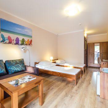 Pokój Family z dwoma łóżkami pojedynczymi